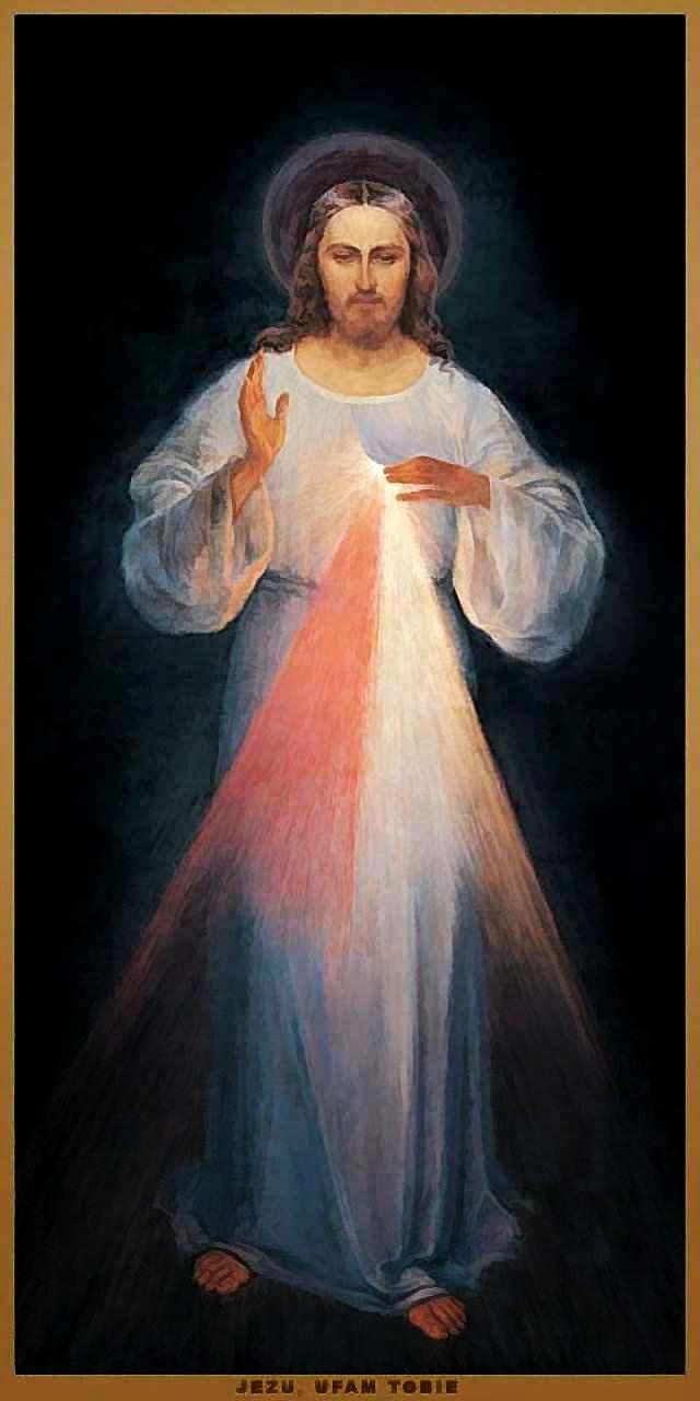 Divina Misericórdia, quadro em Vilnius.