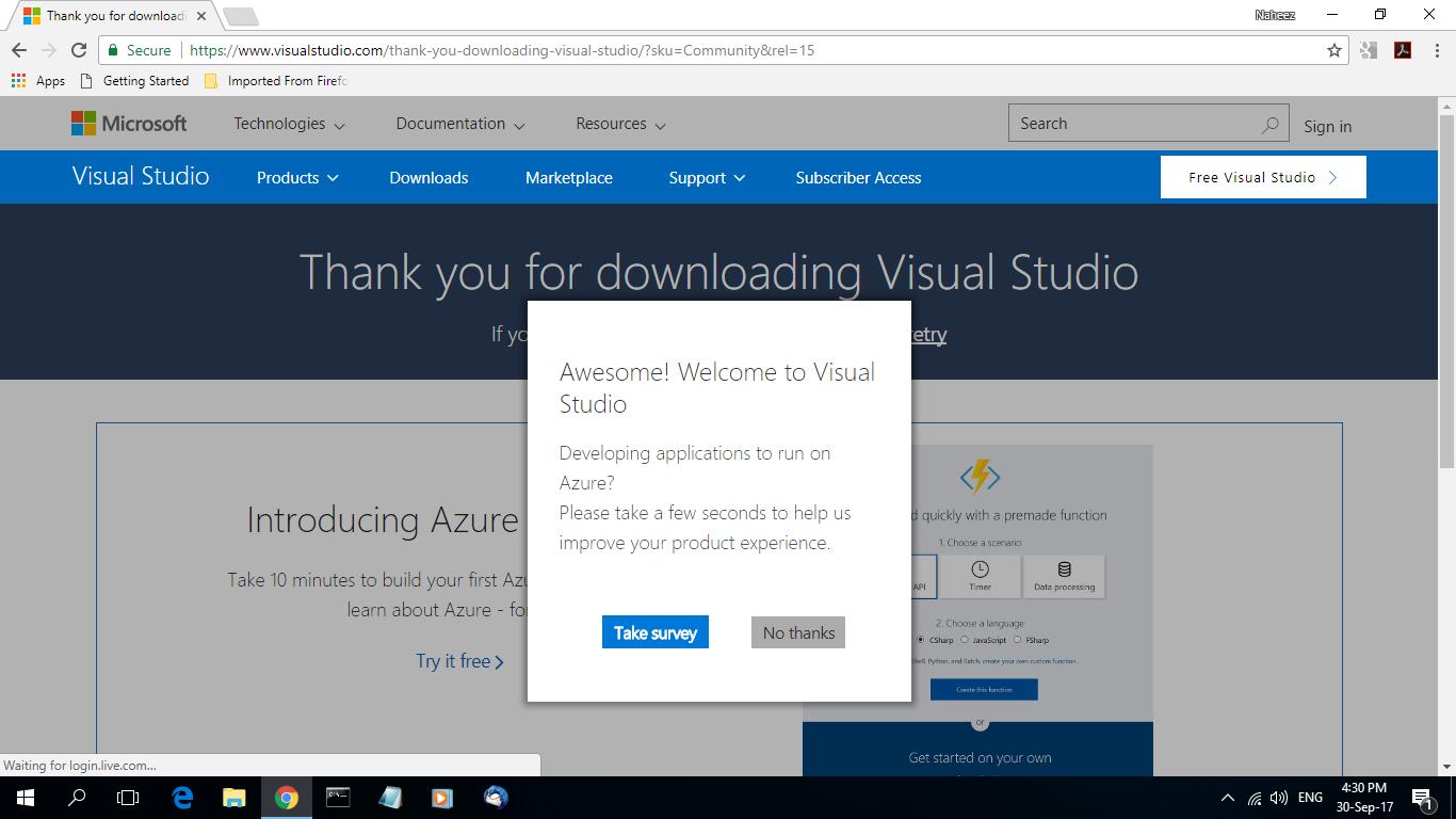 Naheez Thawfeeg's Blog: Compiled 64 bit code using Visual Studio