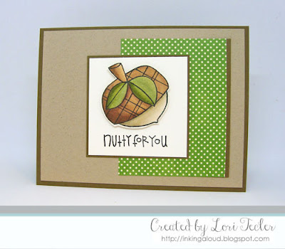 Nutty for You card-designed by Lori Tecler/Inking Aloud-stamps from Paper Smooches
