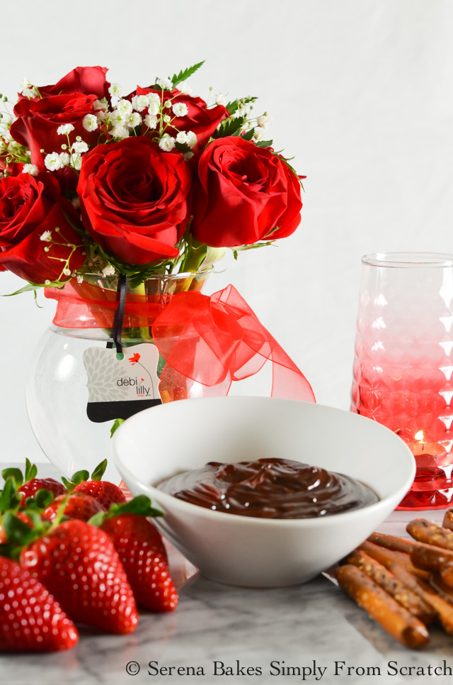 Hot Fudge Fondue