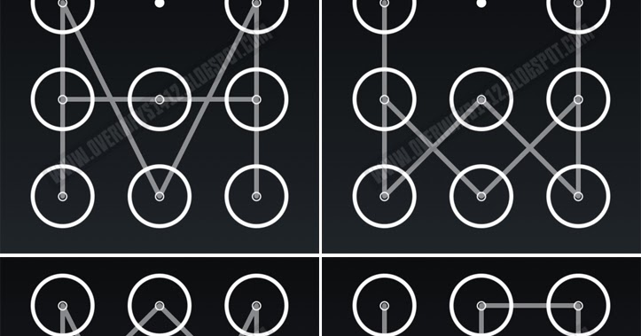 Overways Cara Membuat Kunci Pola Yang Menarik Pada Smartphone