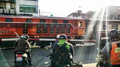 タイのローカル列車
