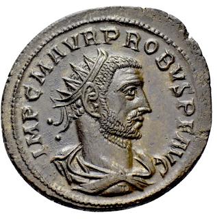 ضرب روماني  جميل للامبراطور بروبوس 11