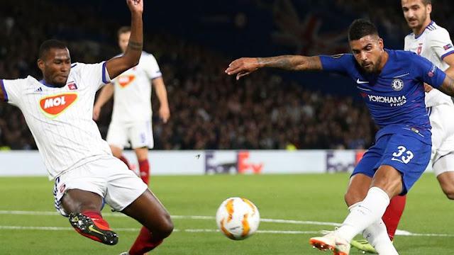 Giroud Chelsea 1 - 0 Vidi FC