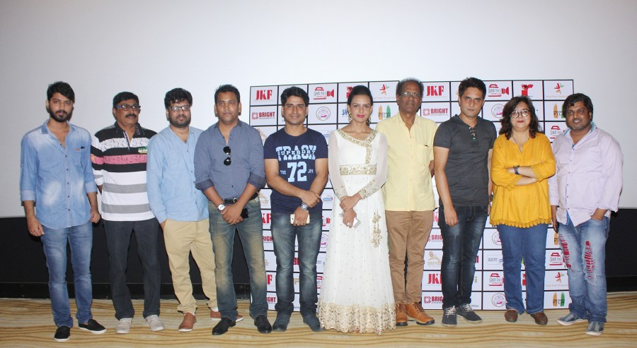 Bidita Bag and Umang Jain at Rabbi Trailer Launch Stills