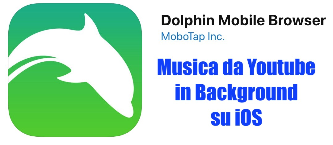 musica youtibe in background su ios con dolphin browser