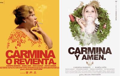 'Carmina o Revienta'; 'Carmina y Amén', Paco León (2012; 2014)