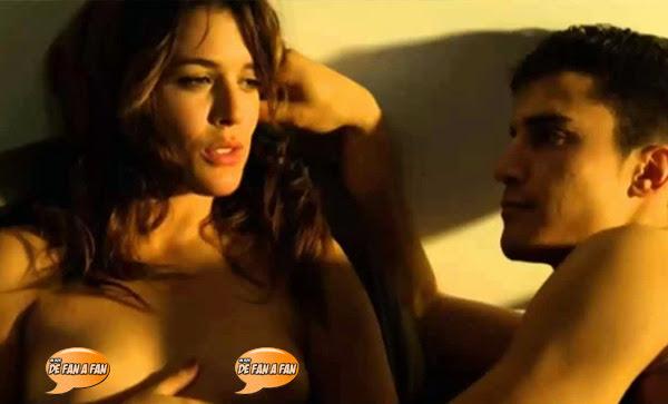 Adriana Ugarte desnuda en Combustión