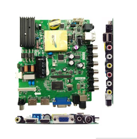 T.R85.801 Universal LED TV Board All Resolutions Free Download