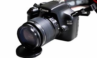 Harga dan Spesifikasi Kamera Canon EOS 1100D