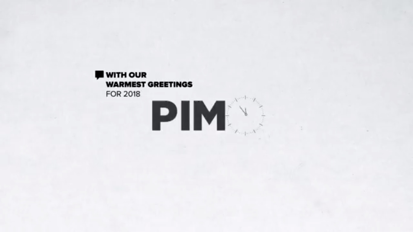 Tarek Chemaly: Pimo goes minimal in end of year wishes