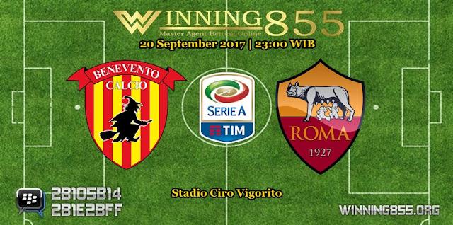 Prediksi Skor Benevento vs Roma