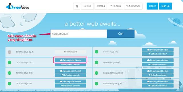 Cara Beli Hosting di Domainesia Untuk Pemula/Awam/Gaptek