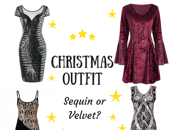 Sequin or velvet dress for Christmas?