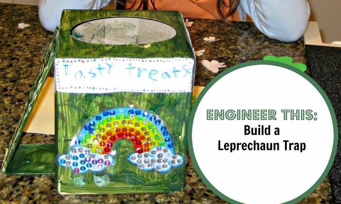 Build a Leprechaun Trap. Rainbow Made with Perler beads