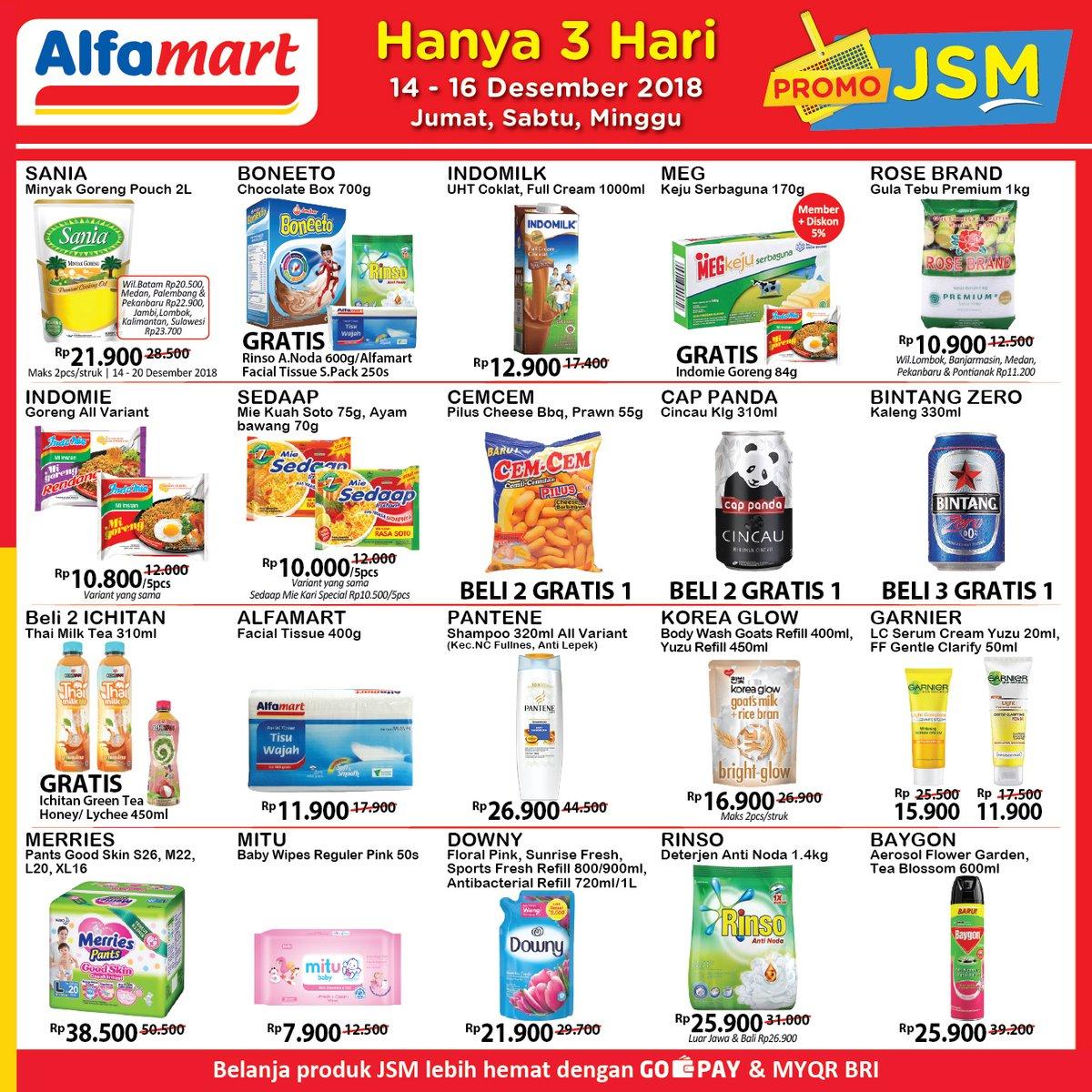 Alfamart - Promo Katalog JSM Periode 14 - 16 Desember 2018