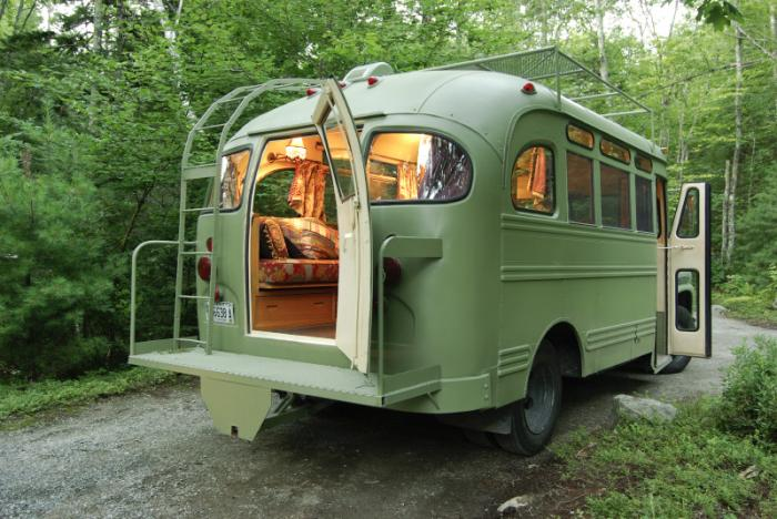 From Remodelista Via Fuckyeahawesomehousestumblr Post 36016204921 1959 Chevrolet Viking Short Bus And I Found It On