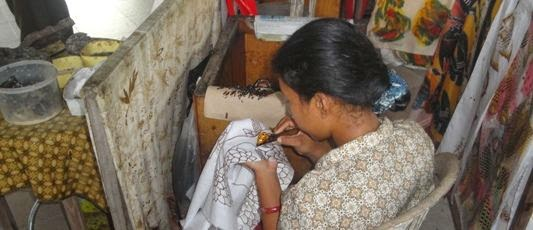 Batik Hand Weaving - Batubulan Village Gianyar Bali Holidays, Tours, Attractions