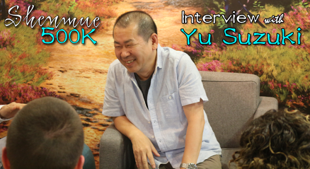 Shenmue 500K Interview with Yu Suzuki