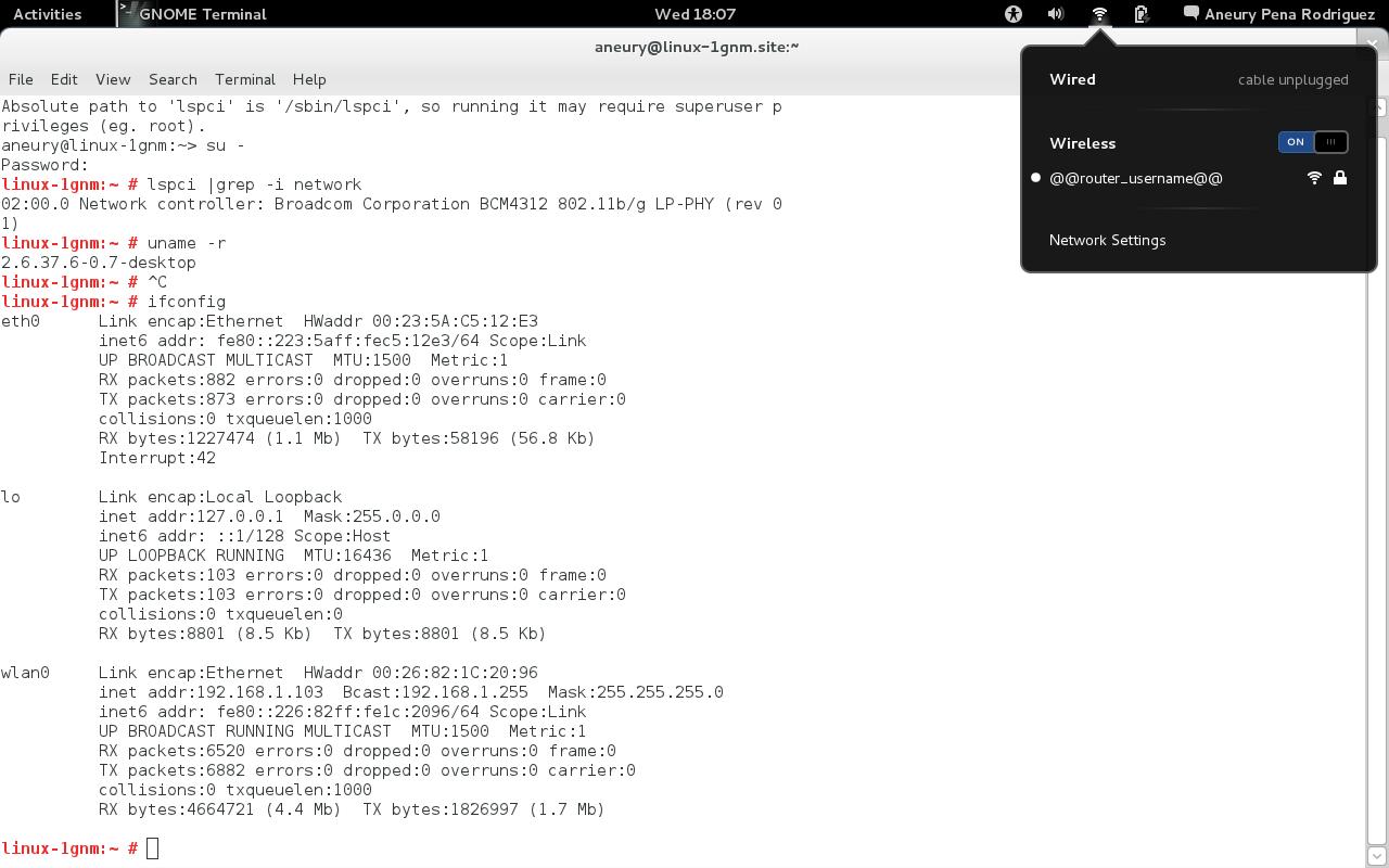 Opensuse broadcom wireless driver