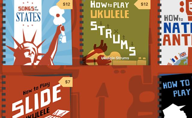 ukulele books