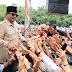 Warga Meriah Sambut Kunjungan Prabowo Subianto di Purbalingga