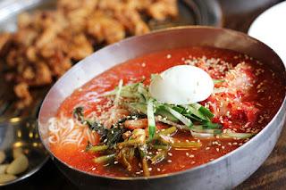 Kuliner Naengmyeon - Korea