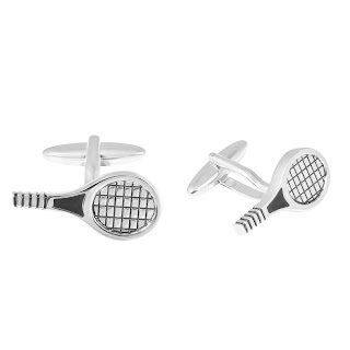 Tennis Racket Cufflink by shazé. Price- Rs. 1,690