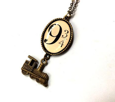 9 ¾ Platform and Train Necklace