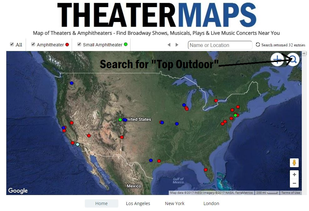 Best Outdoor Music Venues Map on comcast center, portland expo center map, san manuel amphitheater, nikon at jones beach theater, first midwest bank amphitheatre, shoreline amphitheatre, verizon wireless music center map, saratoga performing arts center map, verizon wireless amphitheatre charlotte, riverbend music center, white river amphitheatre, blossom music center map, at&t center map, bayou music center map, music city center map, pnc bank arts center map, oak mountain amphitheatre, alpine valley music theatre map, hollywood palladium, hamilton town center map, hersheypark stadium map, the gorge amphitheatre, nob hill masonic center map, gexa energy pavilion map, the cynthia woods mitchell pavilion, wells fargo center map, blossom music center, alpine valley music theatre, dte energy music theatre, dte energy music theatre map, riverbend music center map, saratoga performing arts center, pnc bank arts center, mandalay bay events center map, sommet center, st. augustine amphitheatre, nikon at jones beach theater map, jiffy lube live map, pnc pavilion map,