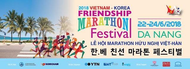Sự kiện Marathon hữu nghị Việt - Hàn 2018