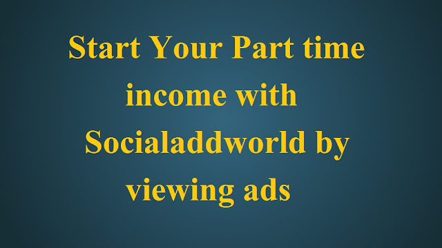 start your earning with socialaddworld