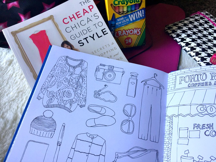 New York Street Style An Adult Coloring Book - So She Writes By Miss Dre  A Beauty + Lifestyle Blog