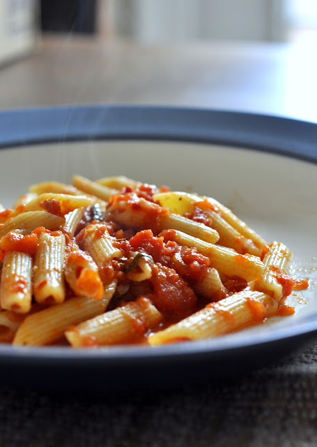 Spicy-Penne-all-Arrabbiata-Recipe-tasteasyougo.com