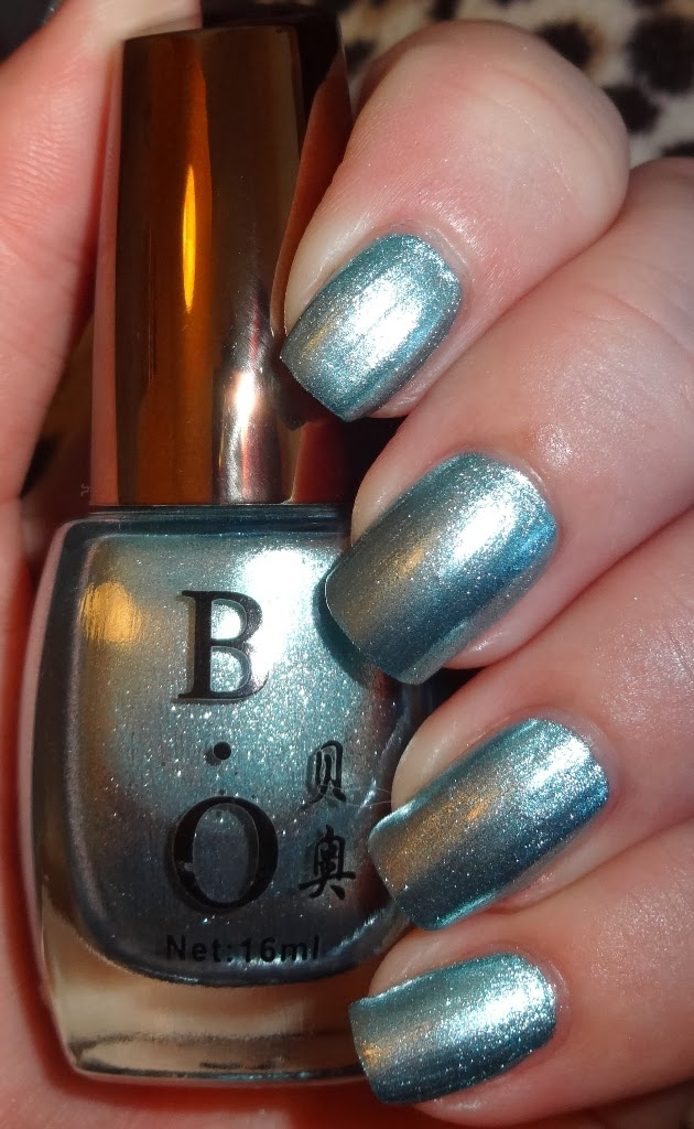 Wendy's Delights: Born Pretty Store Light Blue Nail Polish
