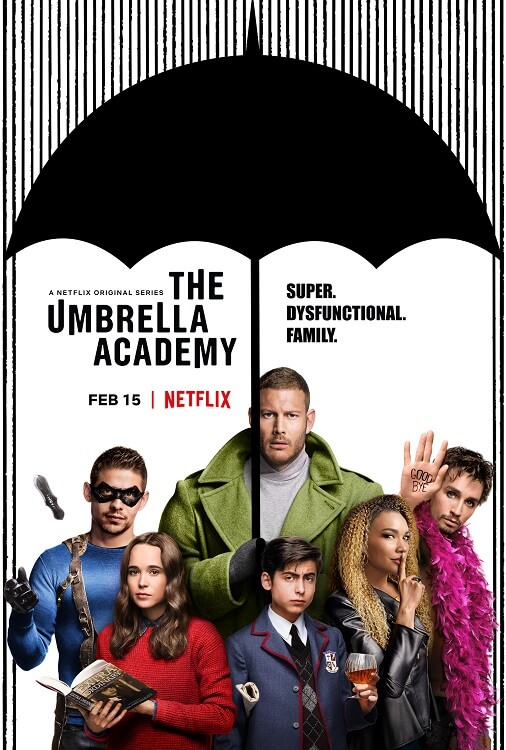 LG Supports Netflix's The Umbrella Academy