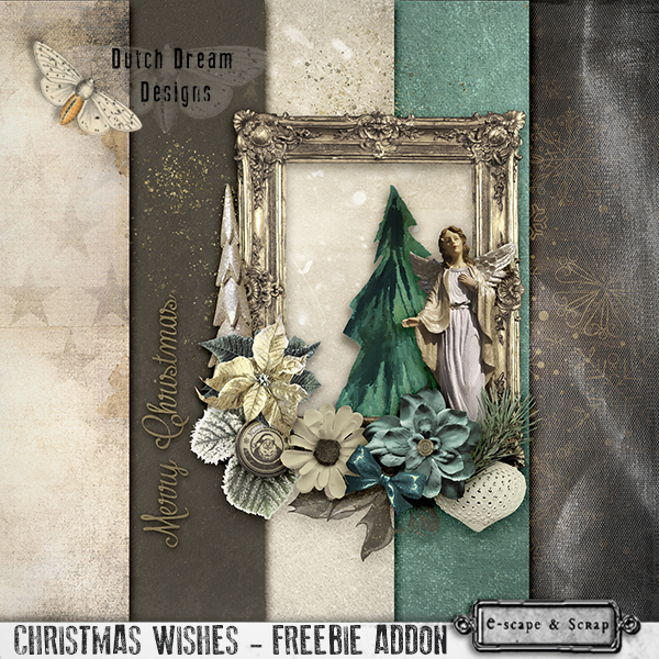 FREEBIE ADDON CHRISTMAS WISHES