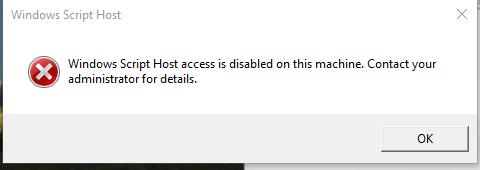 Reach the unreachable: Windows Script Host access is