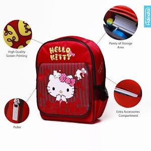 Hello Kitty Bow Rucksack M - Tas Sekolah Anak