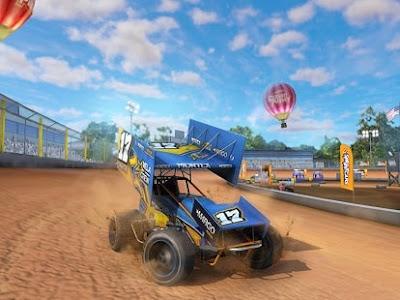 Download Game android Dirt Trackin Sprint Cars APK + OBB v1.0.5 Offline