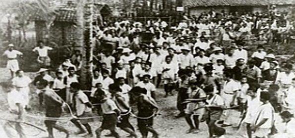 pembantaian besar besaran terhadap para anggota pki