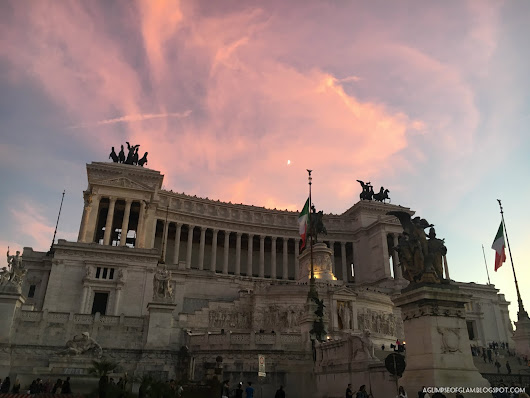 Just a Girl in the Eternal City: A Glimpse of Glam Takes on Rome - A Glimpse of Glam