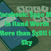 Facebook: $950 Mil in Hand Worth More than $3Bil in Sky