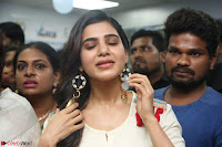 Samantha Ruth Prabhu Smiling Beauty in White Dress Launches VCare Clinic 15 June 2017 057.JPG