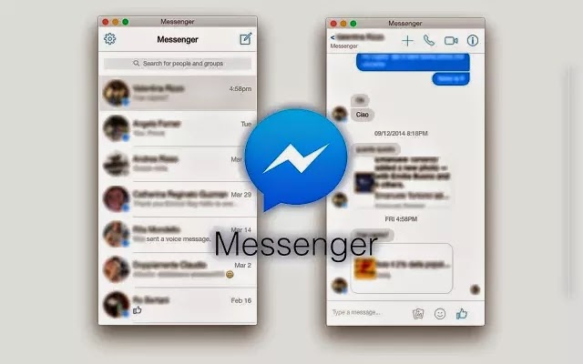 اضافة Facebook Messenger لمتصفح جوجل كروم
