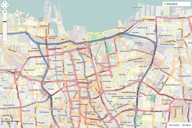 Download OpenStreetmap di ArcMap
