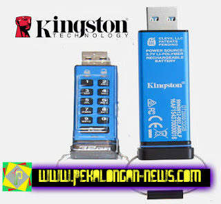 Kingston DataTraveler 2000 32 Gb Menggunakan Pin Sebagai Password USB Flash Drive