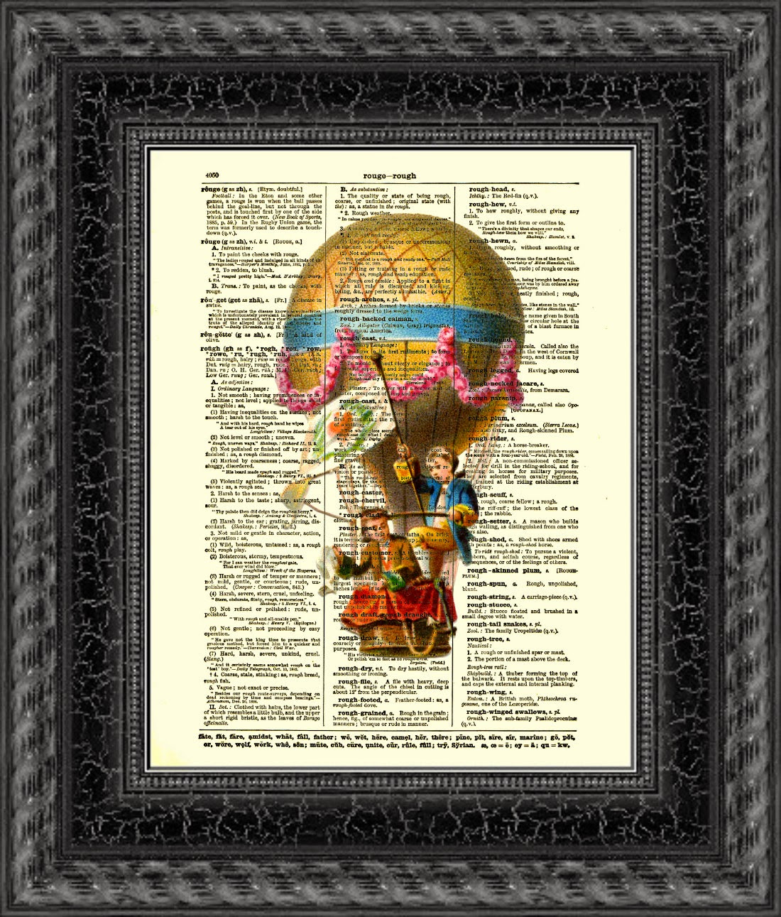18-Children-Hot-Air-Balloon-Belle-Old-Books-and-Dictionaries-in-Re-Imagination-Prints-www-designstack-co
