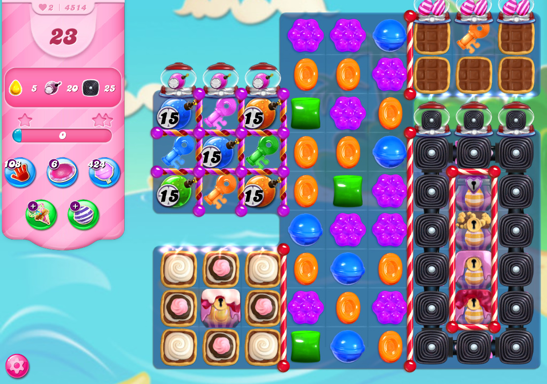 Candy Crush Saga level 4514