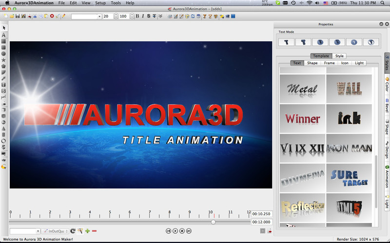 writing animation software
